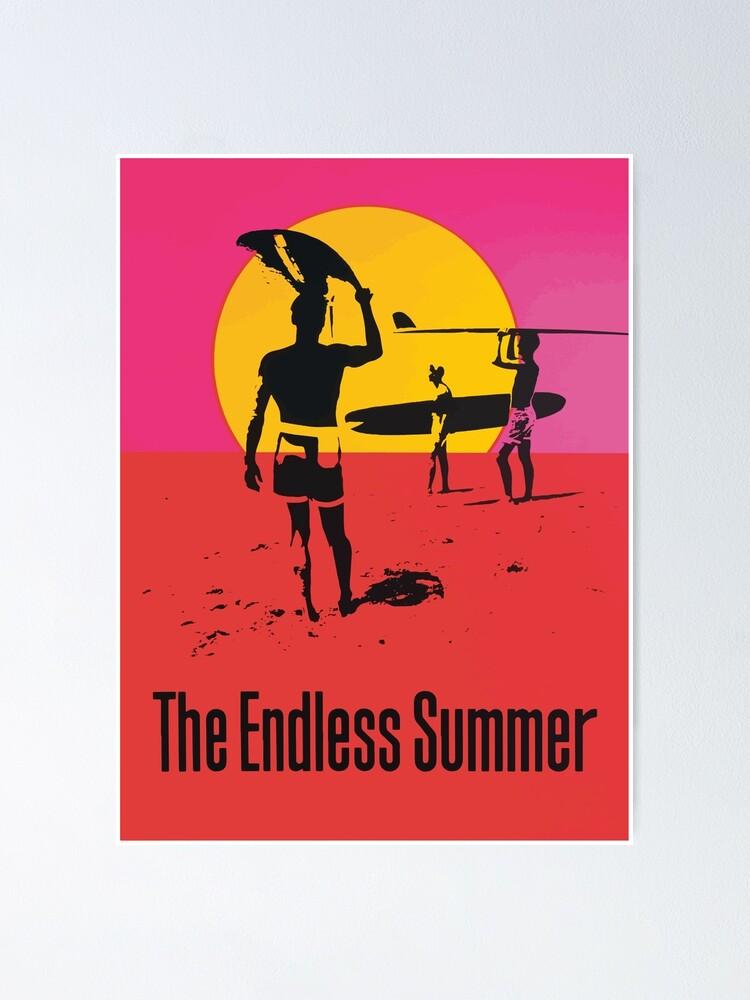 Alternate view of Endless Summer, 1966 Surf Sport Documentary Poster, Artwork, Prints, Posters, Tshirts, Men, Women, Kids Poster