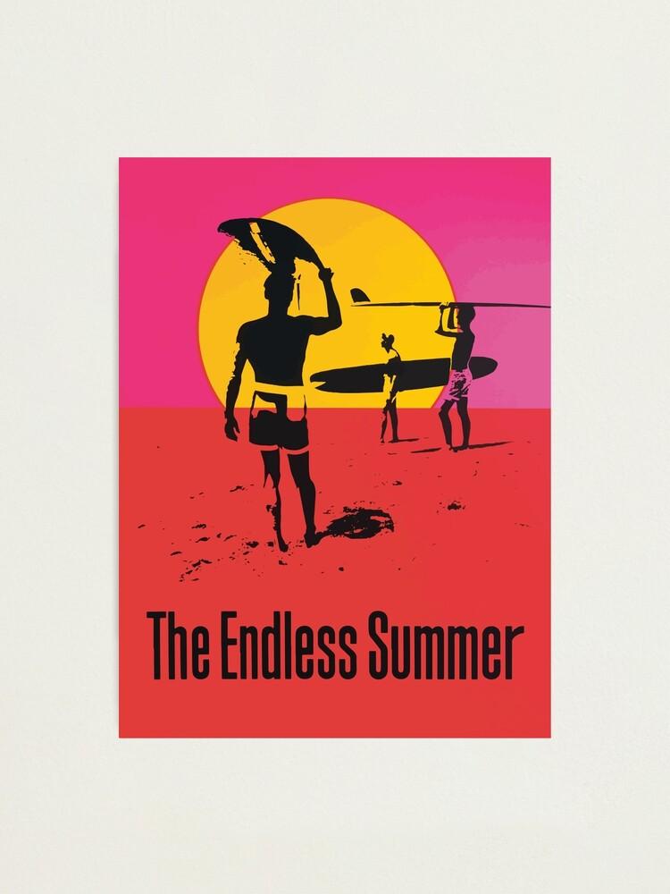 Alternate view of Endless Summer, 1966 Surf Sport Documentary Poster, Artwork, Prints, Posters, Tshirts, Men, Women, Kids Photographic Print