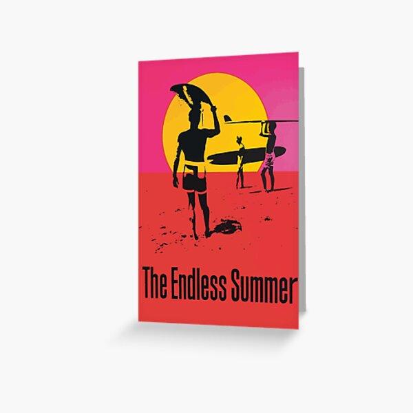 Endless Summer, 1966 Surf Sport Documentary Poster, Artwork, Prints, Posters, Tshirts, Men, Women, Kids Greeting Card