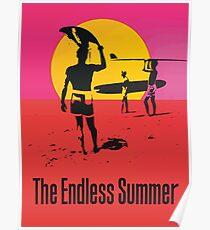 Endless Summer, 1966 Surf Sport Documentary Poster, Artwork, Drucke, Poster, T-Shirts, Männer, Frauen, Kinder Poster