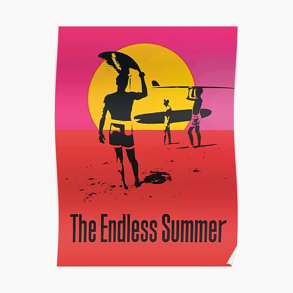 Endless Summer, 1966 Surf Sport Documentary Poster, Artwork, Prints, Posters, Tshirts, Men, Women, Kids Poster