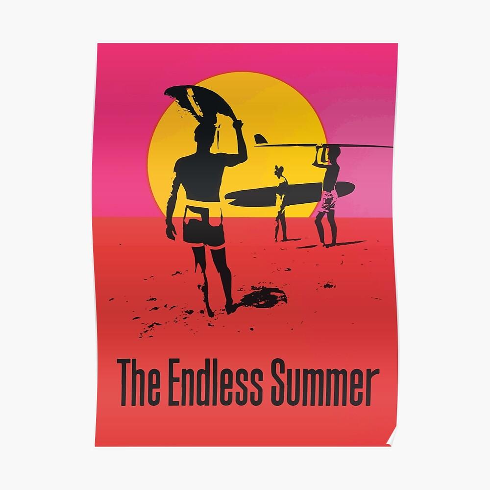 Endless Summer, 1966 Surf Sport Documentary Poster, Artwork, Prints, Posters, Tshirts, Men, Women, Kids Poster