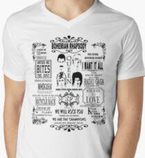 Queen Songs Men's V-Neck T-Shirt