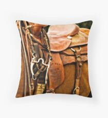 Trophy Saddle Throw Pillow