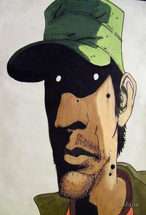 The Artist; Gabriel Ba by SMarie