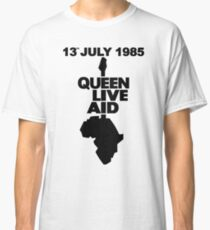 Camiseta clásica Ayuda de la reina