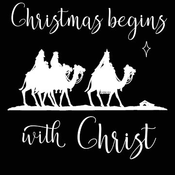Christmas Begins With Christ Wise Men Religious Christmas Christian Christmas Keep Christ in Christm by stacyanne324