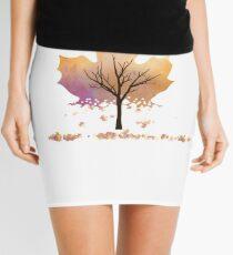 Falling Leaves Mini Skirt