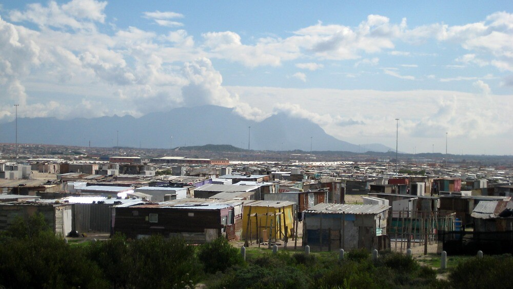 Township - Cape Town, South Africa by Ginelle Cooke