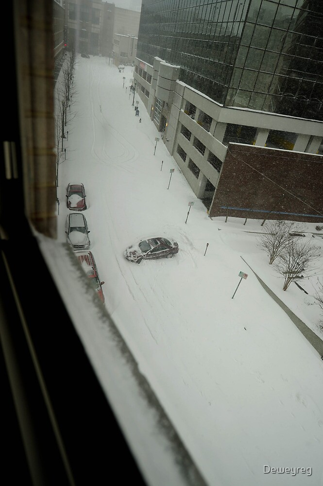 snow blizzard-2 days by Deweyreg