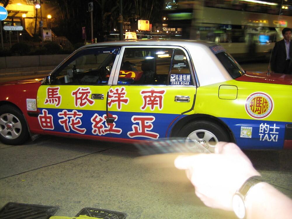 Hong Kong Nights - Hong Kong, China by Ginelle Cooke