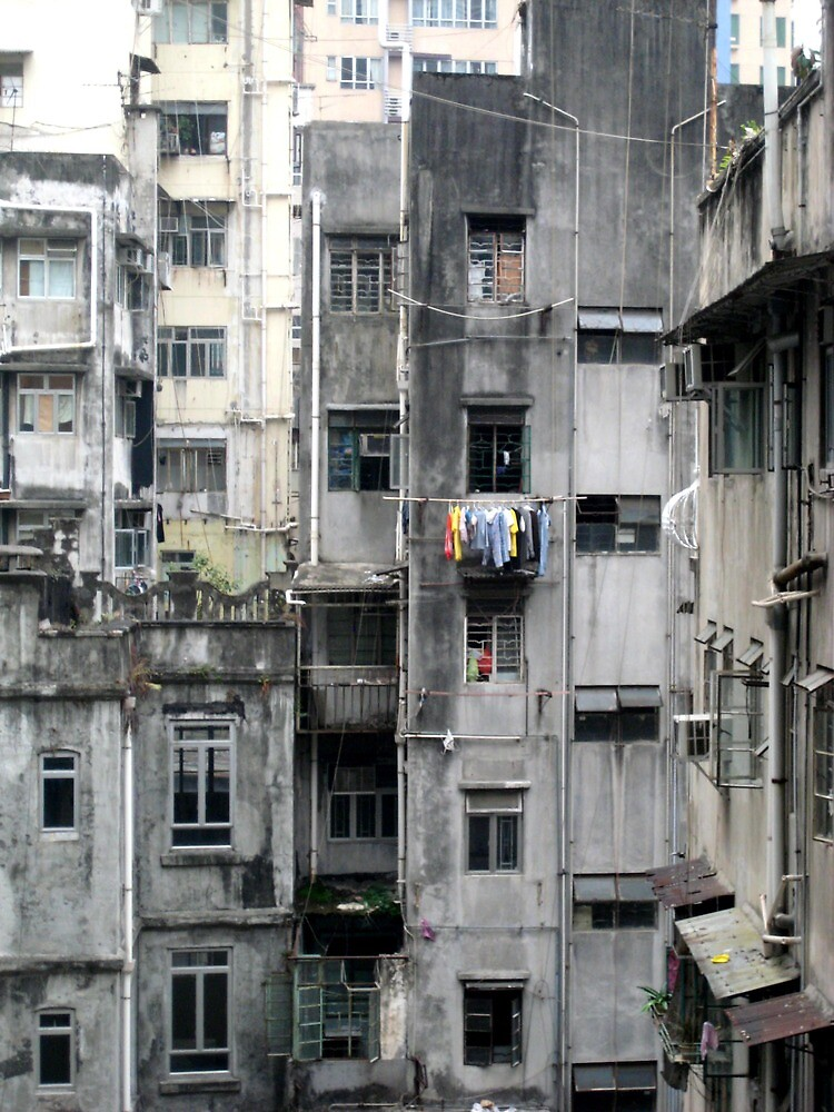 Hong Kong Ghetto - Hong Kong Island by Ginelle Cooke