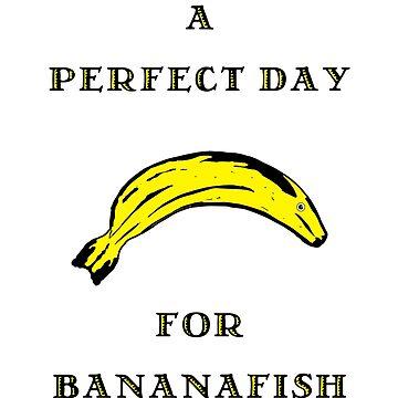Salinger a Perfect Day for Bananafish by natbern