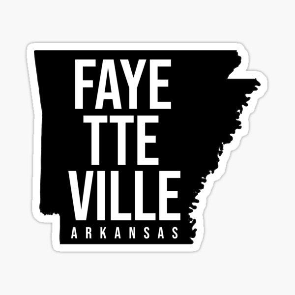 Fayetteville, Arkansas Sticker