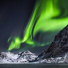 Lights At Skagsanden by John Dekker