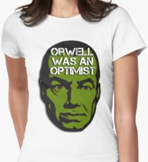 Orwell Was an Optimist Women's Fitted T-Shirt