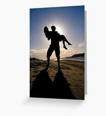 Carry me into the sunset Greeting Card