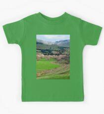 a desolate New Zealand landscape Kids Clothes