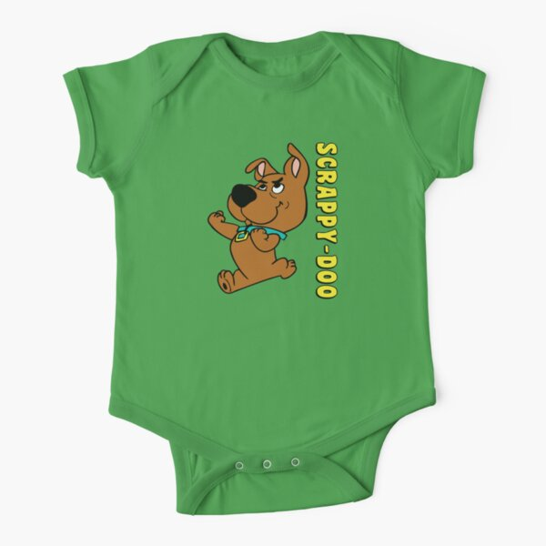 Scrappy-Doo To The Rescue! Short Sleeve Baby One-Piece