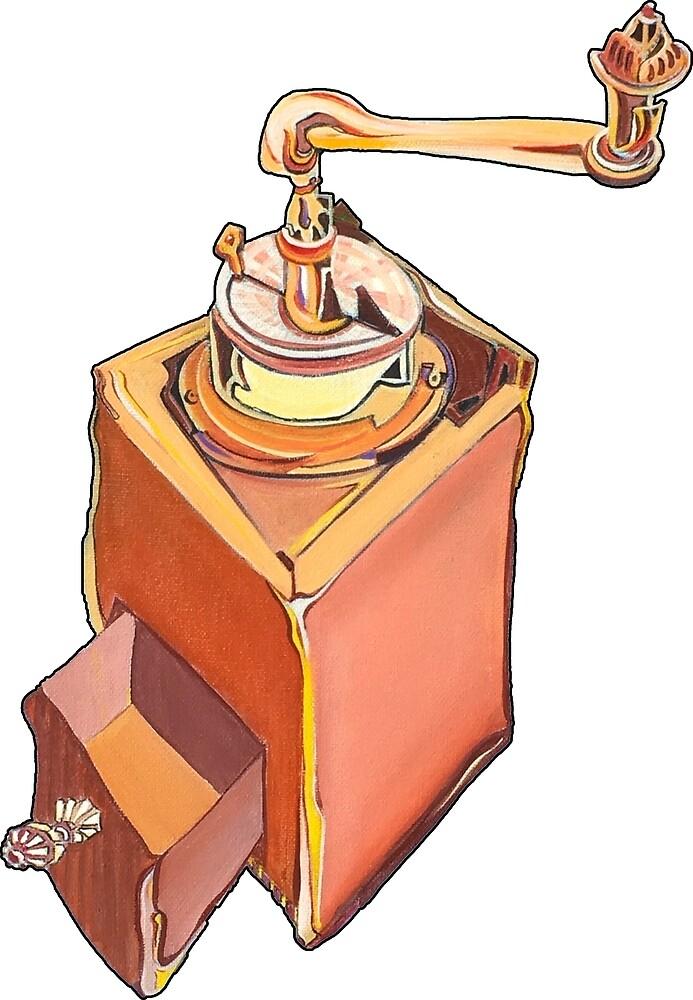 Coffee Grinder by Giselle Luske