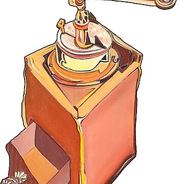 Coffee Grinder by GalleryGiselle