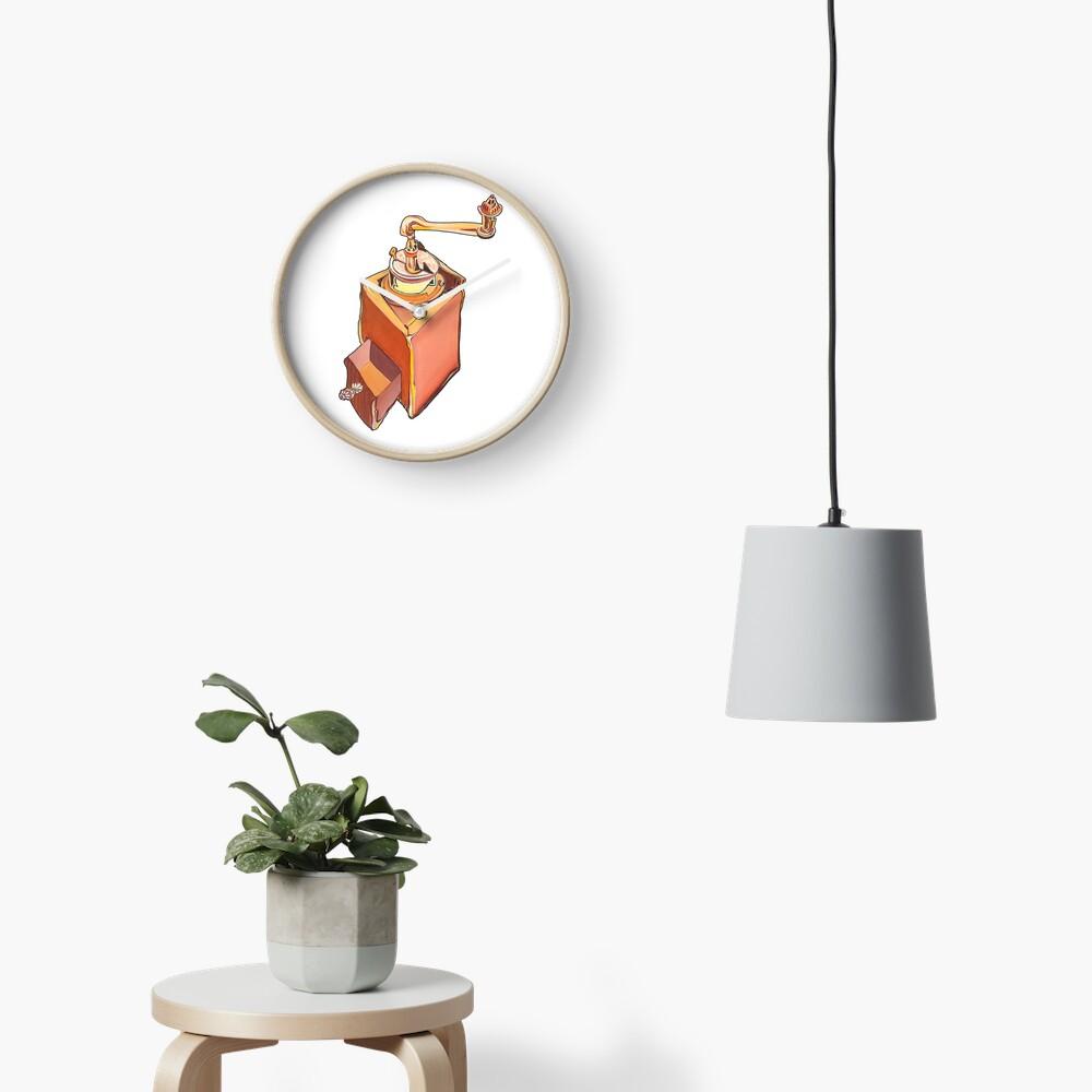 Coffee Grinder Clock