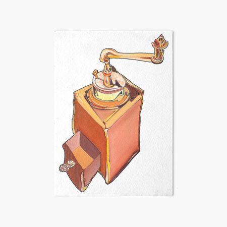 Coffee Grinder Art Board Print