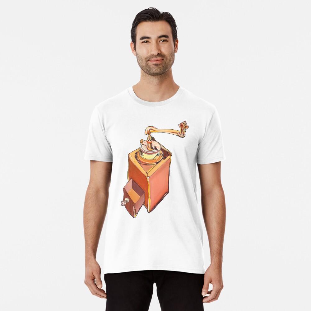 Coffee Grinder Premium T-Shirt