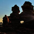 Garden of the Gods / Morning Twins by Mark Bolen