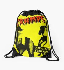 The Cramps - Smell of female Drawstring Bag