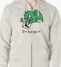 Drawgun Zipped Hoodie