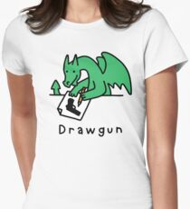 Drawgun Fitted T-Shirt
