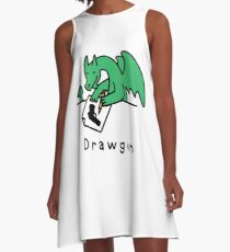 Drawgun A-Line Dress