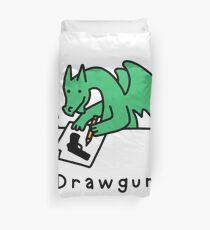 Drawgun Duvet Cover