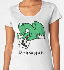 Drawgun Premium Scoop T-Shirt