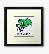 Drawgun Framed Print