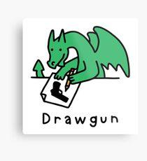 Drawgun Metal Print