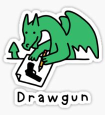 Drawgun Sticker