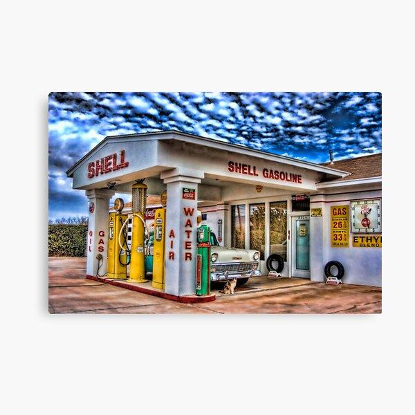 Shell Station 2 Canvas Print
