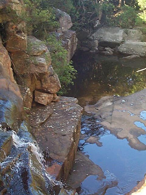 Rock Pool  by Hugh Fathers