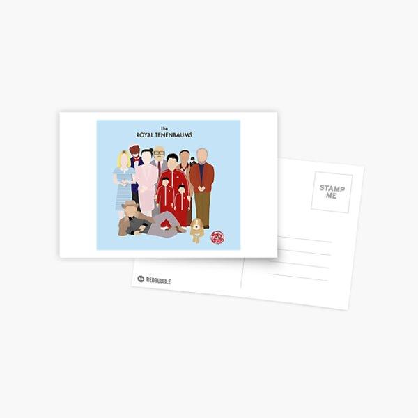 The Royal Tenenbaums Postcard