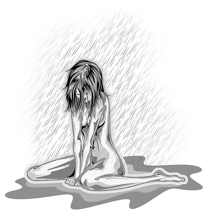 tears drop by bedhesbiroe