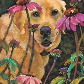 Mellow~Yellow Lab by Janeoooo