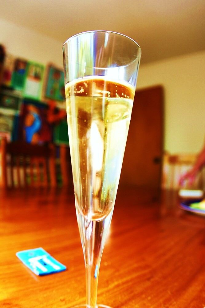 Champagne with Colour by Adam Jones