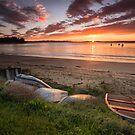 Blackmans Bay Beach Sunrise #5 by Chris Cobern