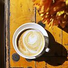 Latte with Sunshine by carlacardello