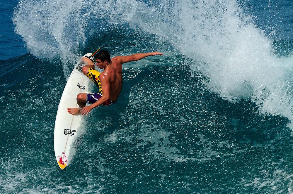Pro Surfer Ian Walsh .... by M-Pics