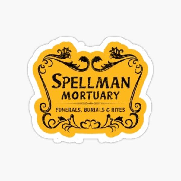 Aventures glacées de la morgue de Sabrina Spellman Sticker