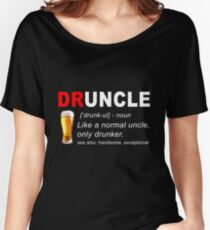Druncle Bier Loose Fit T-Shirt