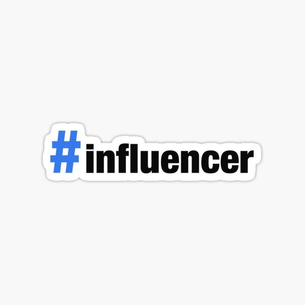 HASHTAG #INFLUENCER Sticker